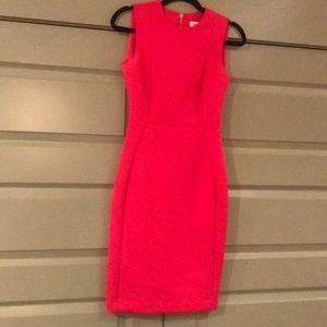Excellent Condition Pink Scuba Dress
